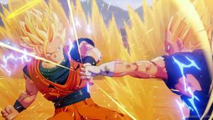 Goku (Super Saiyan 2) vs. Majin Vegeta