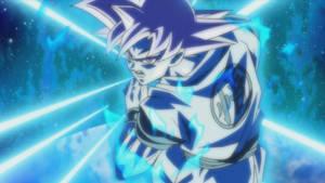 Goku (Super Saiyan God) - Kamehameha