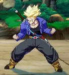 Future Trunks (Super Saiyan) Battle Stance