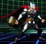 Thor Battle Stance (UMvC3)