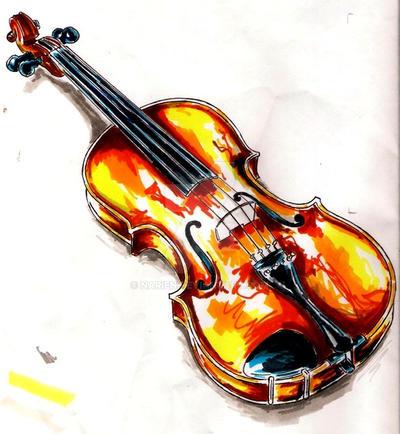 .:Violin:. by Narien