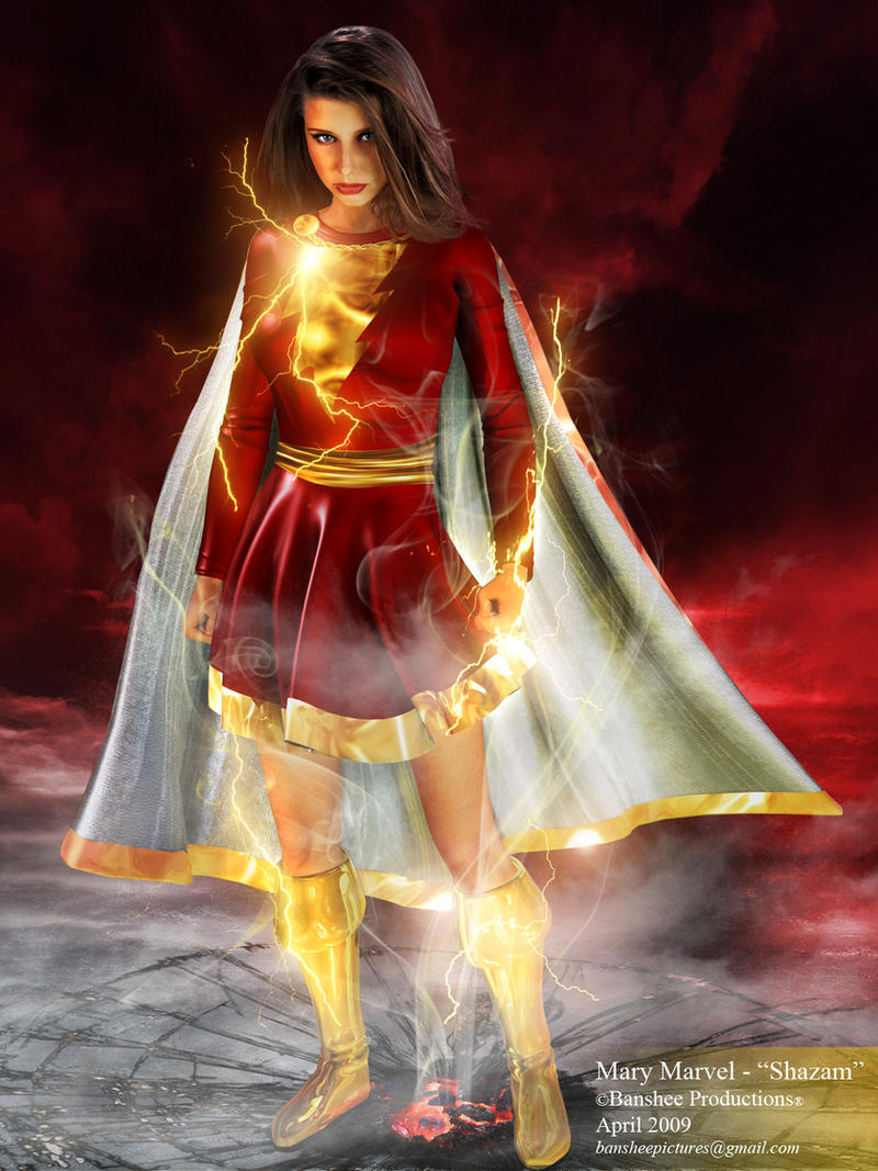 Group Of Wallpaper Mary Marvel