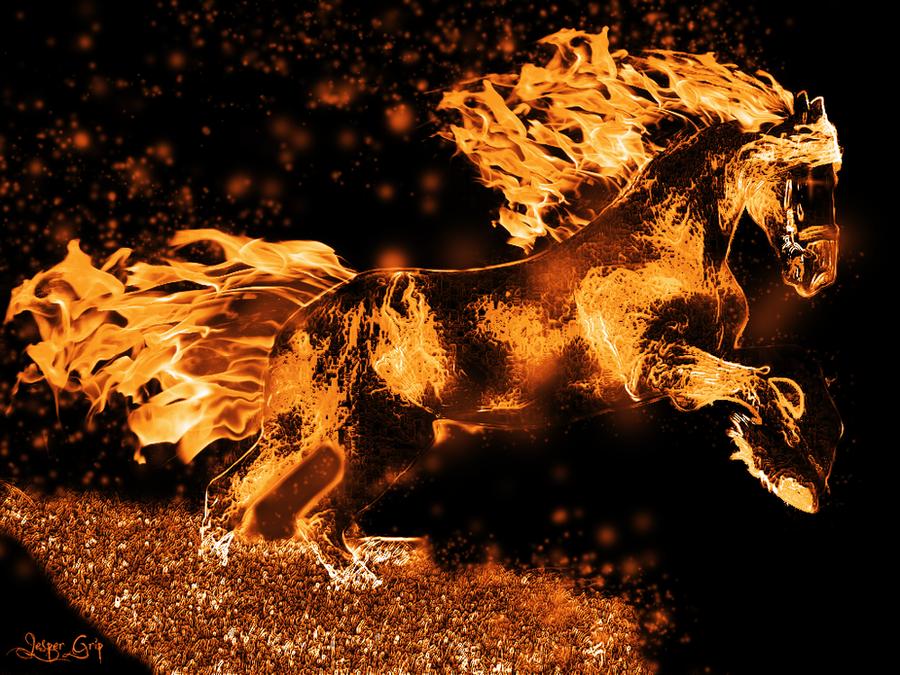 Fire Horse by runordie90