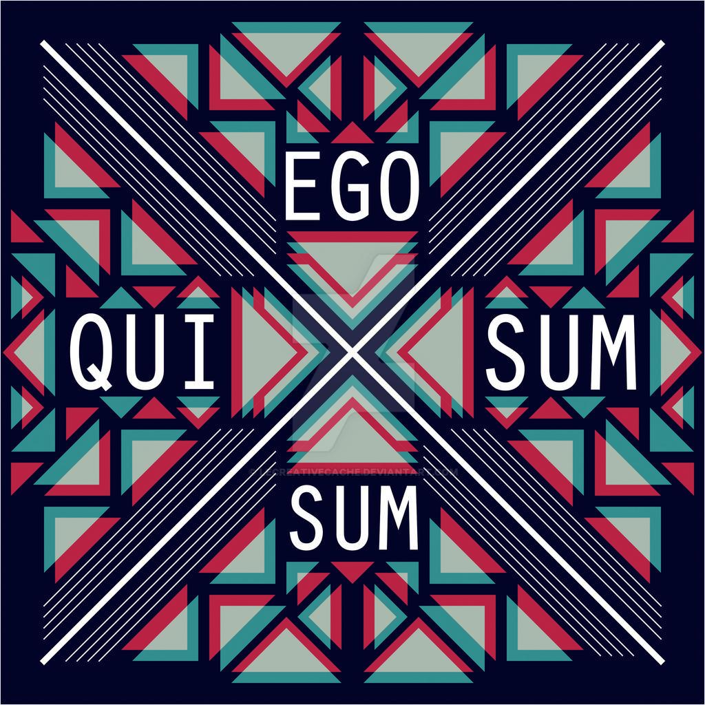 Ego Sum Qui Sum By Lecreativecache On Deviantart