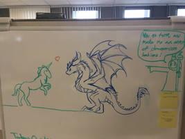 Whiteboard doodles pt 1