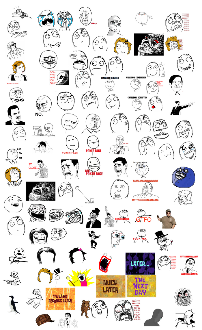 meme faces list