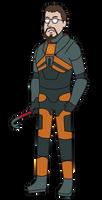 Gordon Freeman Vector