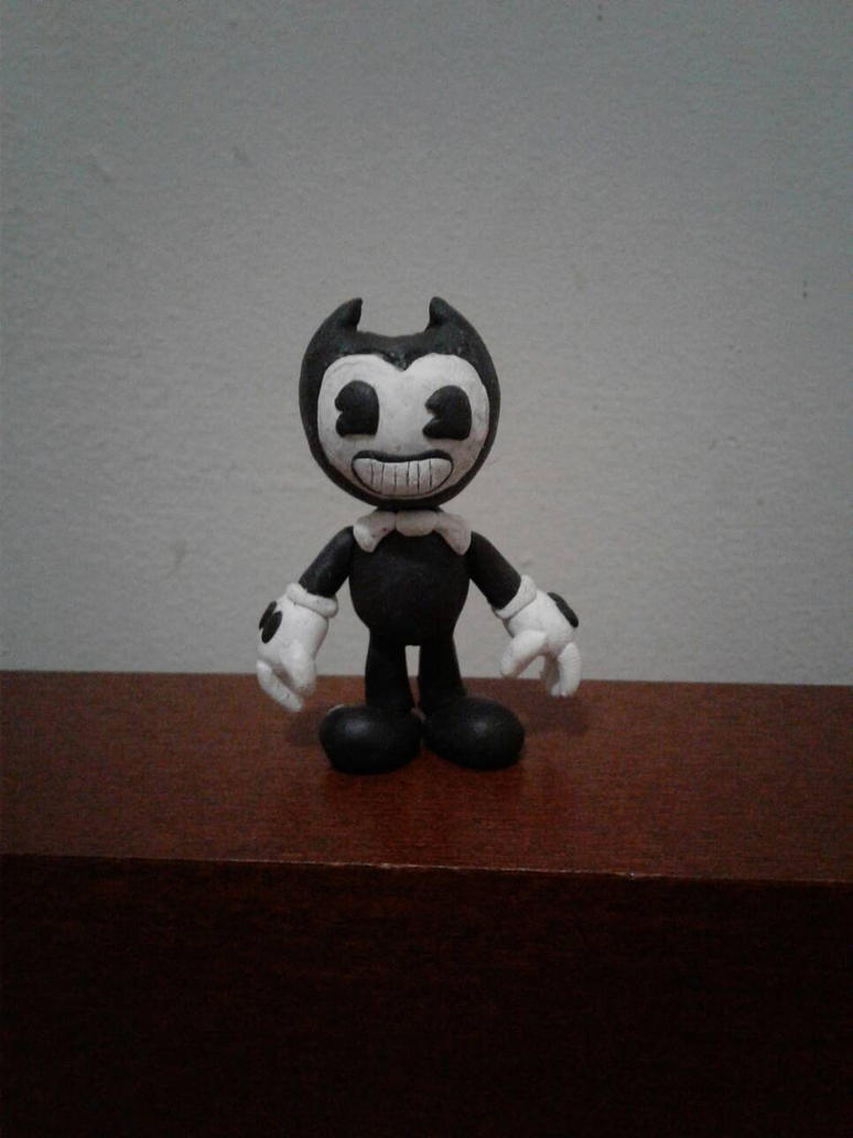 (FINISHED) Bendy Clay Model by luigihorror64