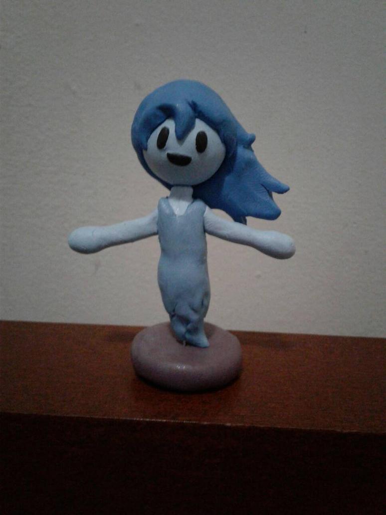 Spooky clay model by luigihorror64