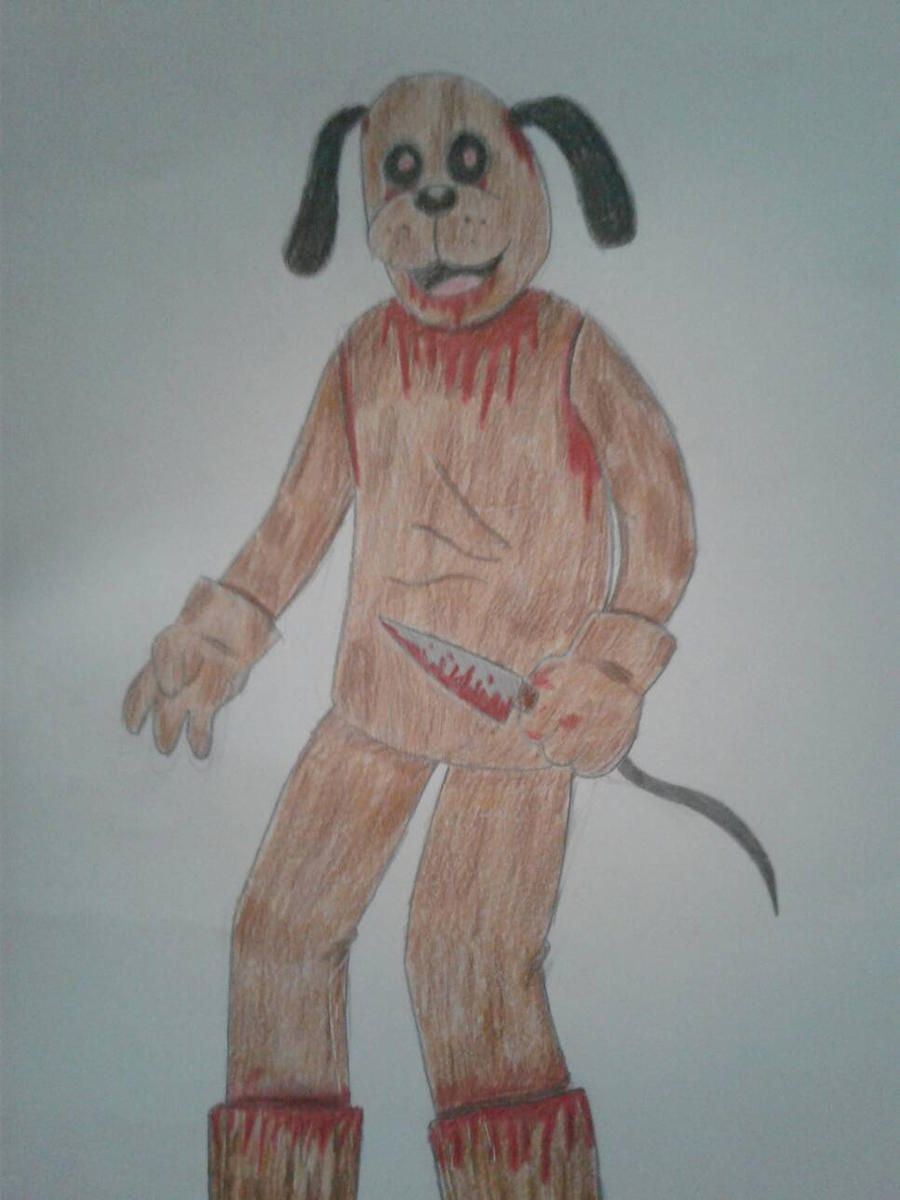 Duck Season Dog Drawing By Luigihorror64 On Deviantart