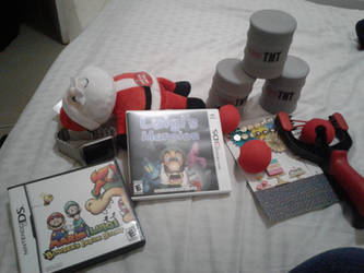 All my birthday gifts :3 by LuigiHorror64
