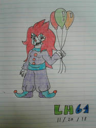 (request) Chompy the Clown by LuigiHorror64