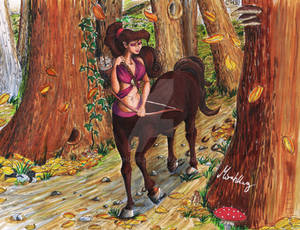 Megara as centaur