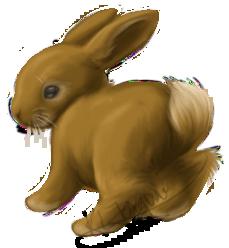 Mini Rabbit by KLFoxglove