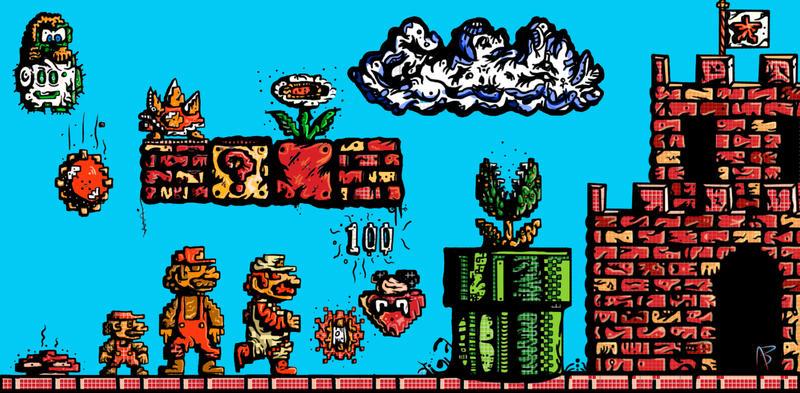 Скачать Марио 1985 Торрент - фото 9
