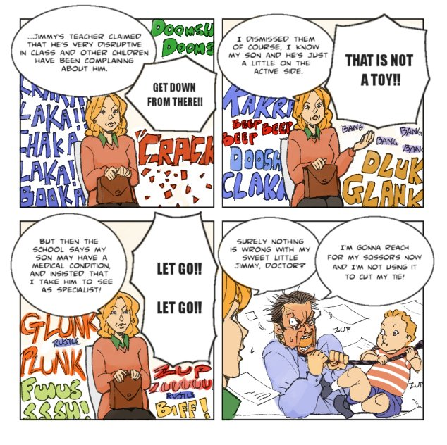 comic strip: paediatrician by ARCHVERMIN