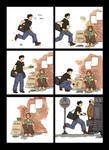 comic strip: spare change