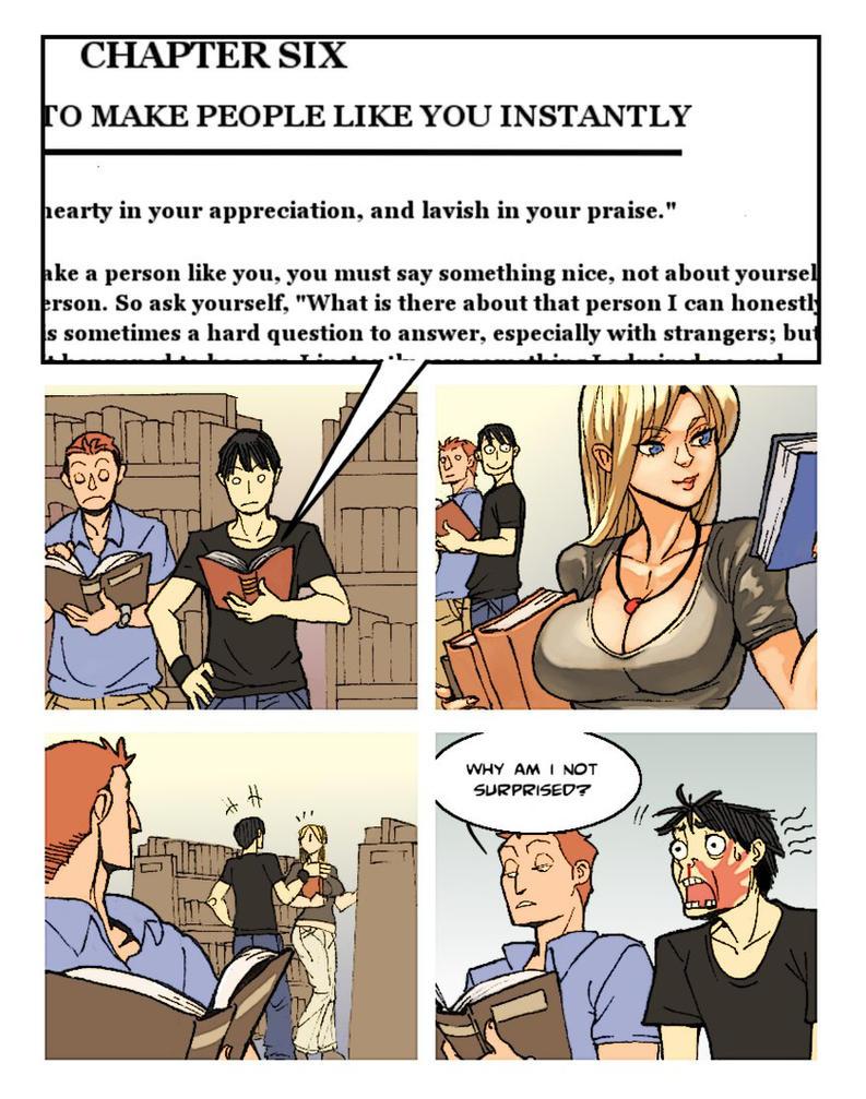 comic strip: Carnegie's wisdom by archvermin