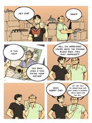 comic strip: dad's advice by archvermin