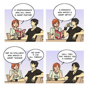 comic strip: aptitude