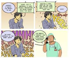 Comic Strip - Delivery Suite