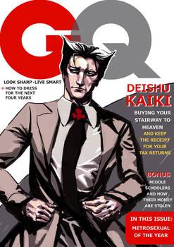 Kaiki Deishu on GQ