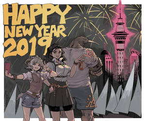 Happy 2019! by archvermin
