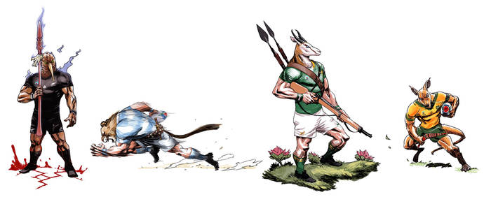 Rugby World Cup 2019 - SANZAAR