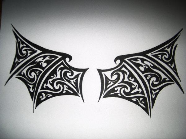 Tribal-Demon Wings by SpiritsRebirth on DeviantArt