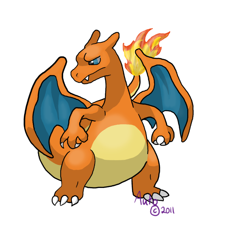 Charizard HGSS Sprite over by Automatistic on DeviantArt