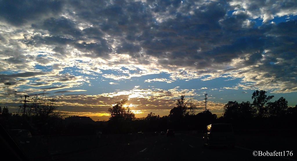 Sun setting over highland park by bobafett176 on deviantart - Highland park wallpaper ...