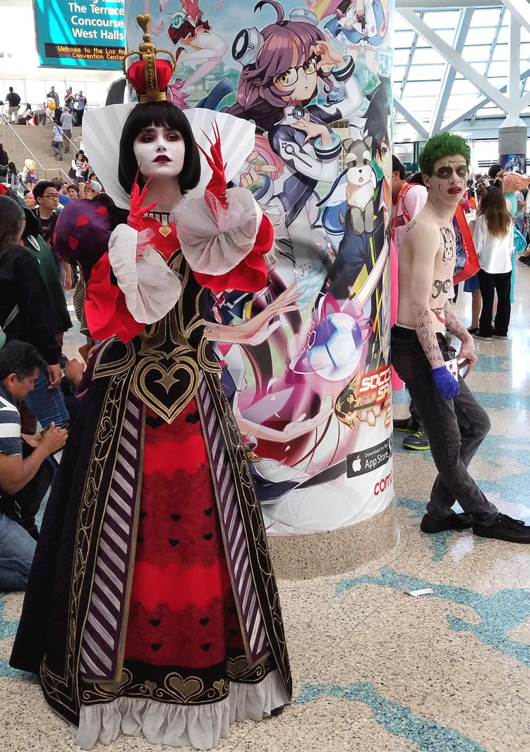 Queen of Hearts and the Joker by Bobafett176