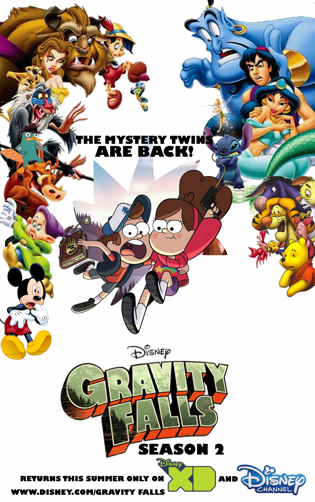 gravity falls s2 poster by edogg8181804 on deviantart