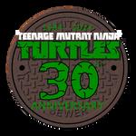 TMNT 30th Anniversary logo (NEW)