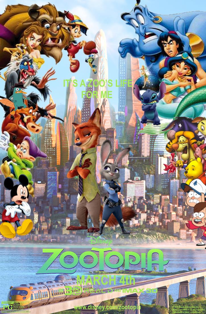 zootopia   poster fm by edogg8181804 on deviantart