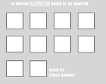 10 Movies Illumination (Blank Meme)