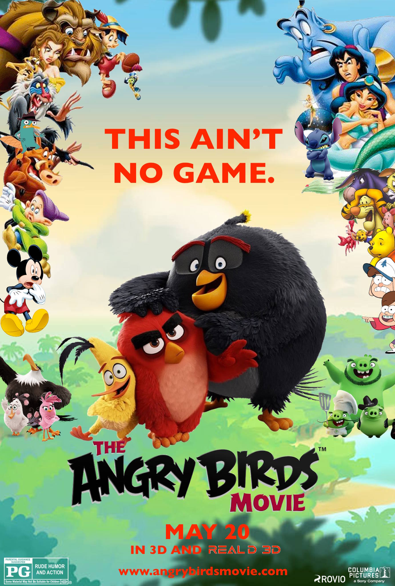 The Angry Birds Movie Poster Fm 605463576