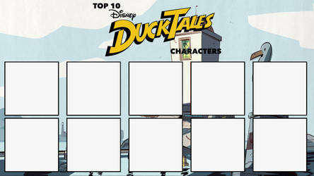 Top 10 '17 DuckTales Characters Meme by edogg8181804