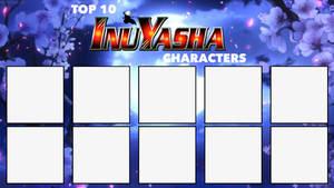 Top 10 Inuyasha Characters Meme