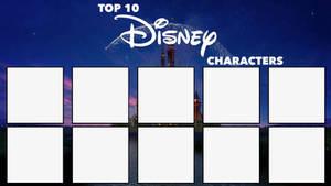 Top 10 Disney Characters Meme