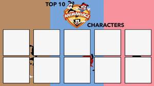 Top 10 Animaniacs Characters Meme