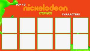 Top 10 Nickelodeon Movies Characters Meme