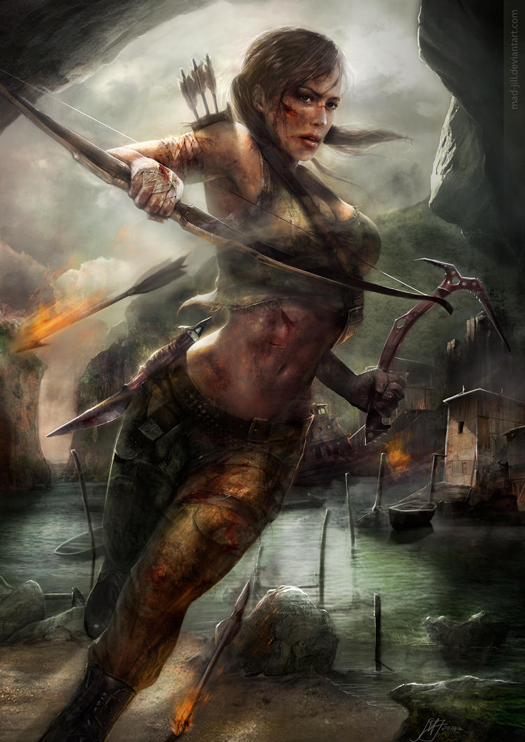 Tomb Raider: Reborn by mad-jill