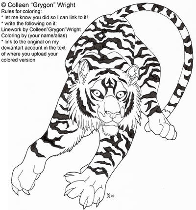 Inner Kitten Coloring page by grygon on DeviantArt