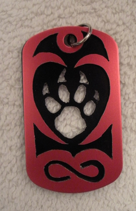 Love the Critters dog tag by grygon