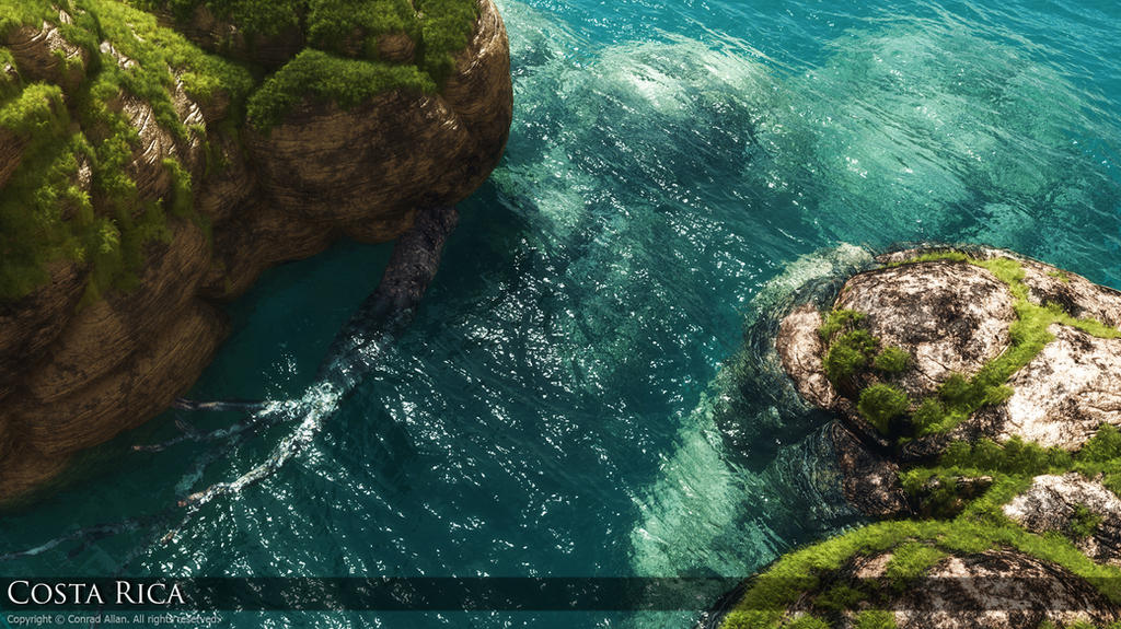 The best of Vue Renders Costa_Rican_Grotto_by_ExtremeProjects