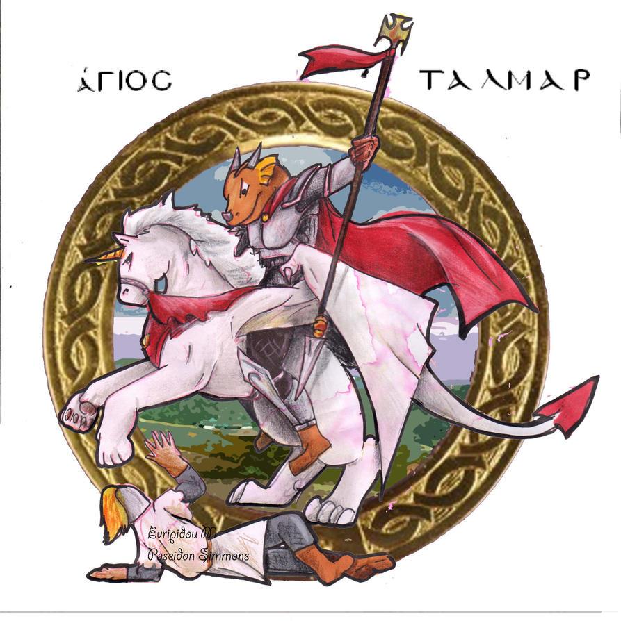saint Talmar by poseidonsimons