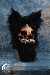 Skull Werewolf Mask (SOLD) by Just-Fur-Kicks
