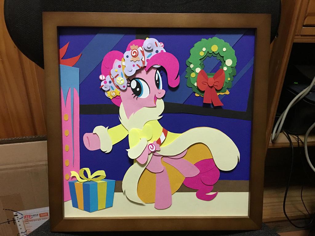 Pinkie Pie Shadow Box