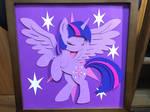 Twilight Sparkle Shadow Box